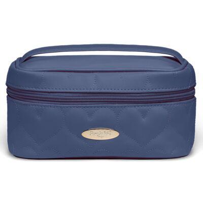Imagem 1 do produto Mini Bolsa para bebe Corações Matelassê Marinho - Classic for Baby Bags