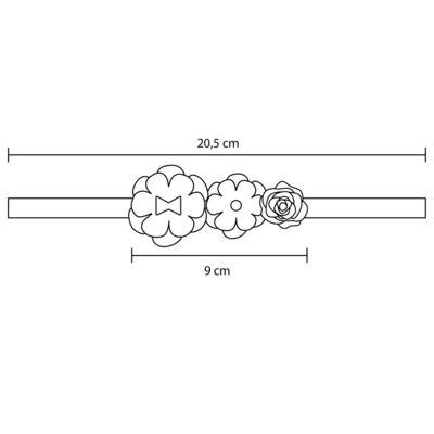 Imagem 3 do produto Faixa Flores Marfim/Rosê - Roana