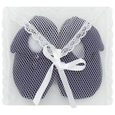 Imagem 3 do produto Sapatinho em tricot Marinho - Roana