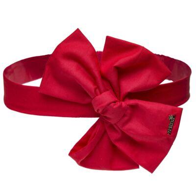Imagem 1 do produto Faixa Maxi Laço em tricoline Vermelha - Roana