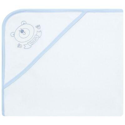 Imagem 1 do produto Toalha com capuz atoalhado Urso - Classic for Baby