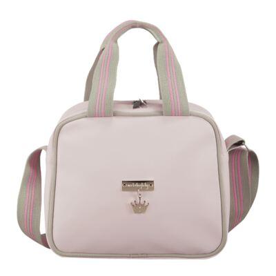 Imagem 3 do produto Bolsa + Frasqueira para bebe Clean Collection Rosa - Masterbag