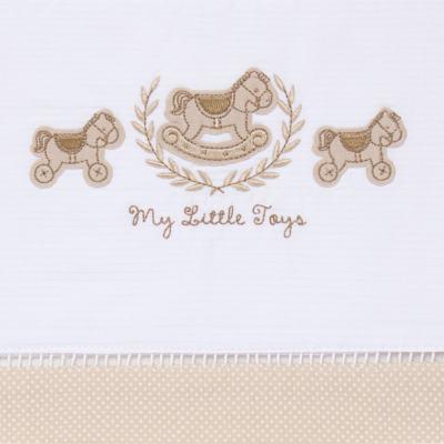 Imagem 2 do produto Jogo de lençol para carrinho em malha Little Toys - Classic for Baby