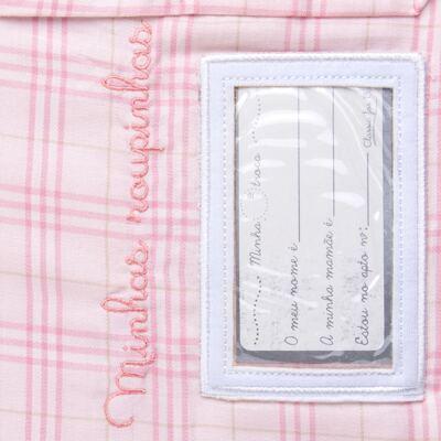 Imagem 5 do produto Kit 2 Saquinhos para maternidade Minhas Roupinhas Le Petit Rosa - Classic for Baby
