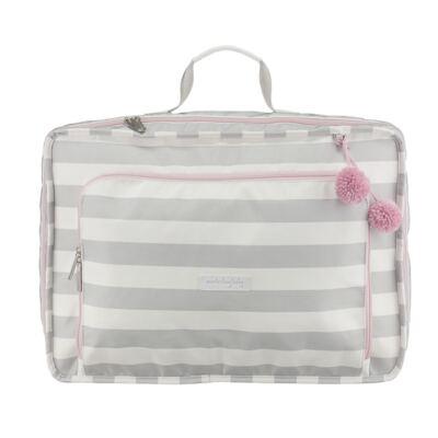 Imagem 1 do produto Mala maternidade Vintage Candy Colors Pink - Masterbag