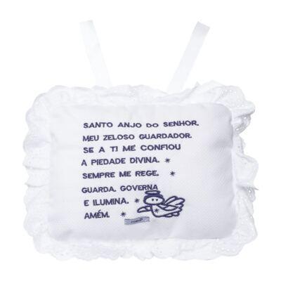 Imagem 1 do produto Almofada Santo Anjo para bebe em piquet Marinho - Roana