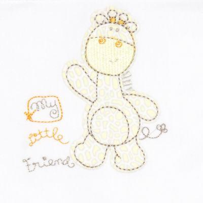 Imagem 2 do produto Jogo de lençol para carrinho em malha Giraffe Friend - Classic for Baby