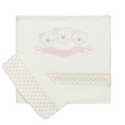 Imagem 1 do produto Jogo de lençol em malha ursinha