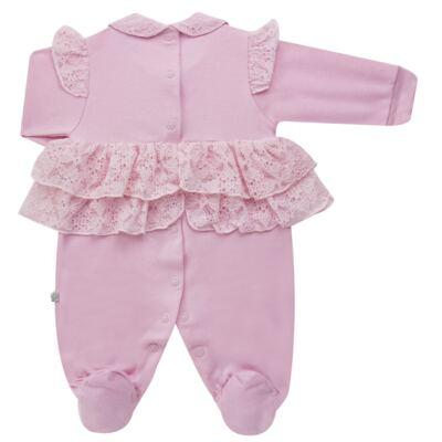 Imagem 6 do produto Jogo Maternidade para bebe com Macacão e Manta em suedine Gabrielly - Beth Bebê - BB8824 Saida Maternidade Suedine Gabrielly-RN