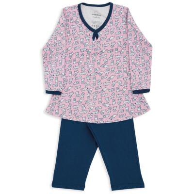 Imagem 1 do produto Pijama longo em suedine Dog - Dedeka