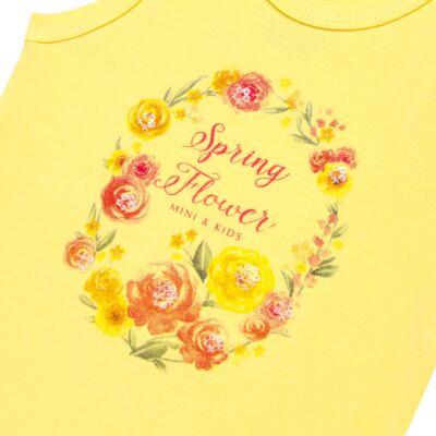 Imagem 2 do produto Body regata para bebe em spandex Spring Flower - Mini & Kids - BRNE1650 BODY NADADOR EXPAND FLORAL 3-P