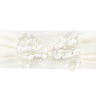 Imagem 1 do produto Faixa meia Laço Mini Flores Marfim - Roana