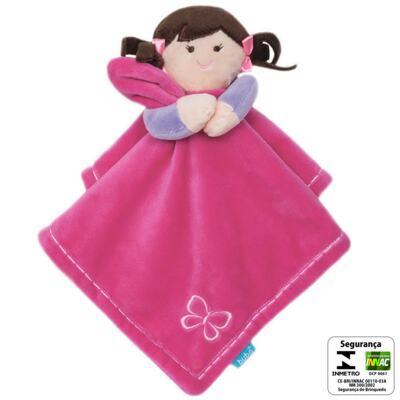 Imagem 2 do produto Naninha em soft My Doll Pink (3m+) - Buba