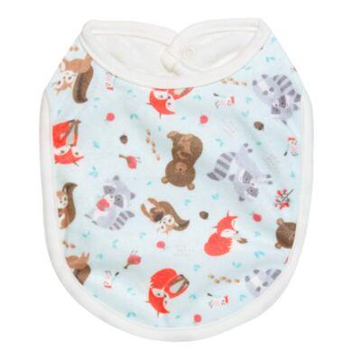 Imagem 1 do produto Babador para bebe atoalhado Woodland - Petit