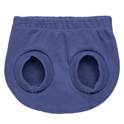Imagem 4 do produto Pack Elefantinho: 02 Cobre Fraldas para bebe em high comfort - Vicky Baby - 1022-713 ELEF AZUL PK 2 COBRE BEBE SUED HIGH -G