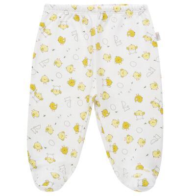 Imagem 4 do produto Pijama longo para bebe em suedine Piu Piu - Anjos Baby - AB1759006.004 PIJAMA BABY SUEDINE FEM PIU PIU T06-G
