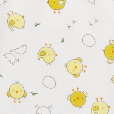 Imagem 5 do produto Pijama longo para bebe em suedine Piu Piu - Anjos Baby - AB1759006.004 PIJAMA BABY SUEDINE FEM PIU PIU T06-G