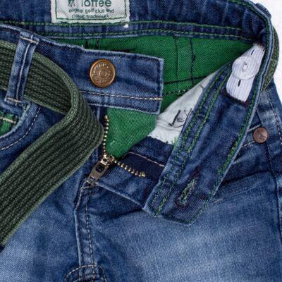 Imagem 3 do produto Calça c/ Cinto em jeans Destroyed - Toffee