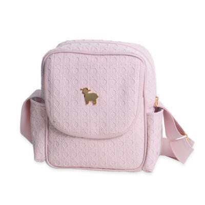Imagem 3 do produto Bolsa maternidade + Frasqueira térmica + Porta Mamadeira Tressê Rosa - Majov