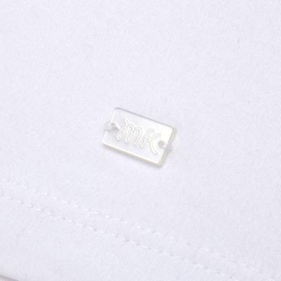 Imagem 3 do produto Macacão curto com golinha para bebe em algodão egípcio c/ jato de cerâmica e filtro solar fps 50 L'Hortensia - Mini & Kids - MCCG1746 MACACÃO M/C C/ GOLA SUEDINE HORTÊNCIAS-M