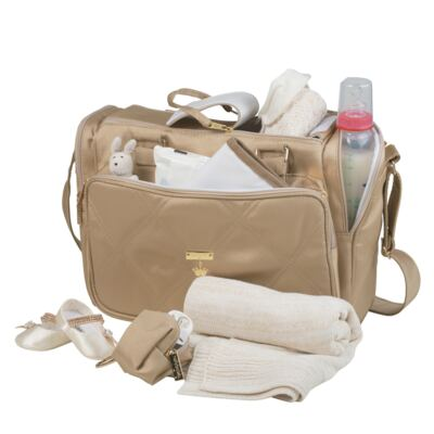 Imagem 2 do produto Bolsa para bebe Anne Caqui Classic Golden - Masterbag