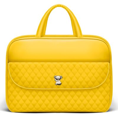 Mala Maternidade para bebe Colors Yellow - Classic for Baby Bags