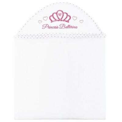 Imagem 1 do produto Toalha Max com capuz atoalhado Princess Ballerina - Classic for Baby