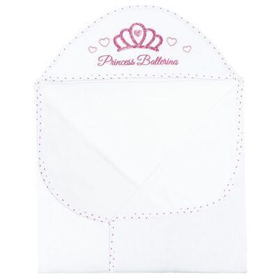 Imagem 2 do produto Toalha Max com capuz atoalhado Princess Ballerina - Classic for Baby