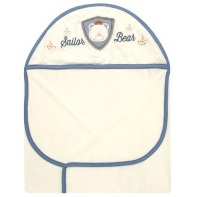 Imagem 2 do produto Toalha Max com capuz atoalhado Sailor - Classic for Baby
