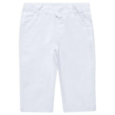 Imagem 4 do produto Camisa & Gravata c/ Calça para bebe em tricoline Branco - Sylvaz - SZ745 CONJUNTO BATIZADO C/ GRAVATA BRANCO-M