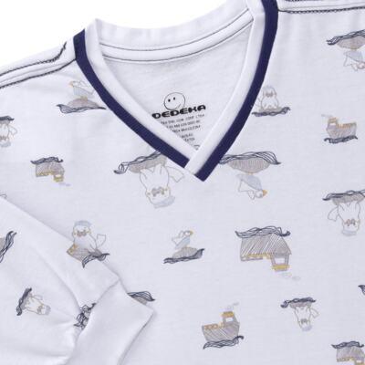 Imagem 3 do produto Pijama longo em moletinho Wally - Dedeka - DDK16638/E112 Pijama Moletinho Morsa-2