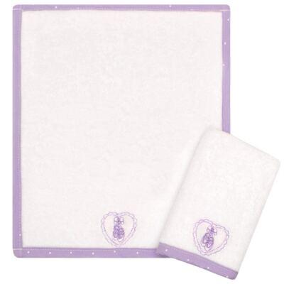 Imagem 1 do produto Kit com 2 fraldas de boca atoalhadas Ballet - Classic for Baby
