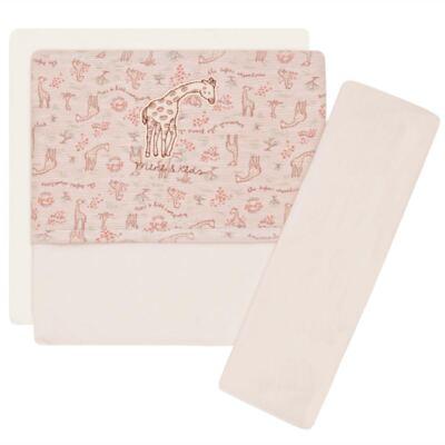 Imagem 1 do produto Jogo de lençol para carrinho em malha Safari Giraffe - Classic for Baby