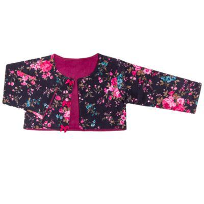 Imagem 2 do produto Conjunto Pagão Floral: Casaquinho + Body longo + Calça - Roana