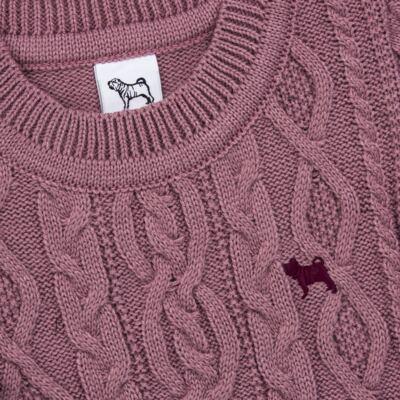 Imagem 2 do produto Suéter em tricot Uva - Charpey