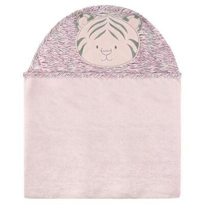 Imagem 1 do produto Toalha com capuz Tigrinha Rosa - Classic for Baby