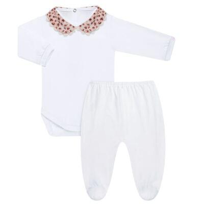 Imagem 1 do produto Body com Mijão para bebe em malha Oncinha - Roana