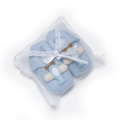 Imagem 5 do produto Sapatinho em tricot Aviãozinho Azul - Roana