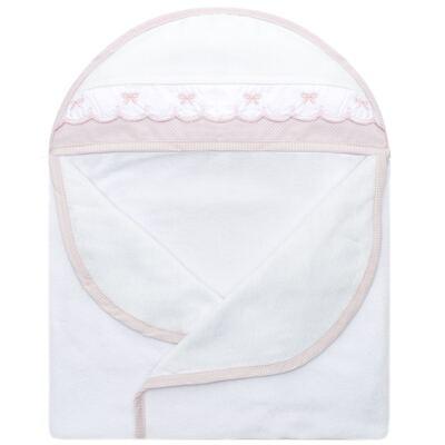 Imagem 2 do produto Toalha com capuz Lacinhos - Classic for Baby