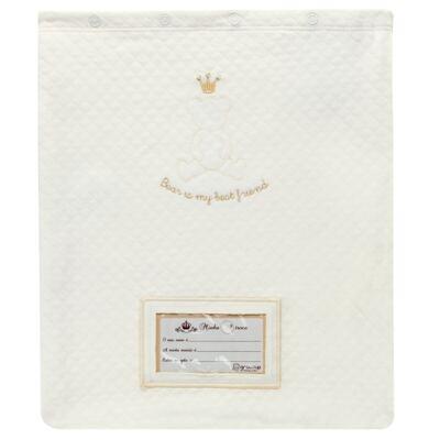 Imagem 1 do produto Porta Roupinhas para Maternidade Marfim Matelassê - Grow Up