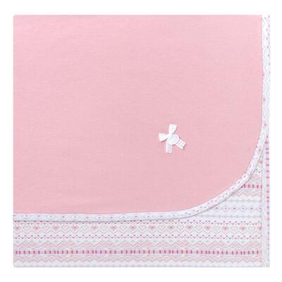 Imagem 1 do produto Manta em algodão egípcio c/ jato de cerâmica e filtro solar fps 50 Tribal Print - Mini & Kids