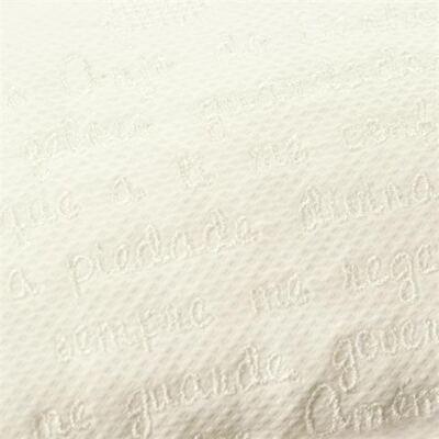 Imagem 2 do produto Almofada Santo Anjo para bebe em piquet branco - Classic for Baby