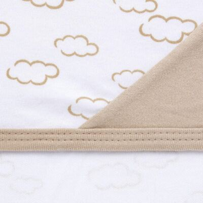 Imagem 5 do produto Jogo Maternidade com Macacão e Manta para bebe em malha Ovelhinha - Pingo Lelê - PL65721 KIT PRESENTE MACACAO E MANTA OVELINHA-P