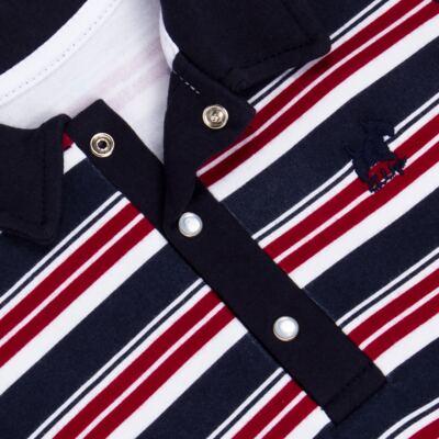 Imagem 2 do produto Macacão Polo para bebe em algodão egípcio Norfolk - Grow Up - 02010425.0017 MACACAO DOG VERMELHO -P