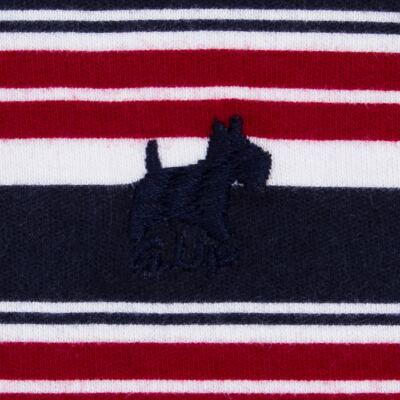 Imagem 3 do produto Macacão Polo para bebe em algodão egípcio Norfolk - Grow Up - 02010425.0017 MACACAO DOG VERMELHO -P