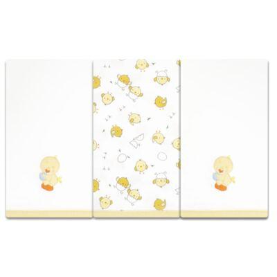 Imagem 1 do produto Kit com 3 fraldinhas de boca para bebe em malha Piu-Piu - Anjos Baby