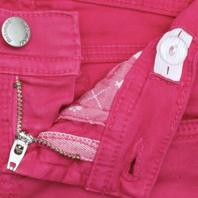 Imagem 5 do produto Calça Skinny em sarja Swarovski Pink - Missfloor - 1730M1757 CALÇA SKINNY PINK SARJA SARJA-3