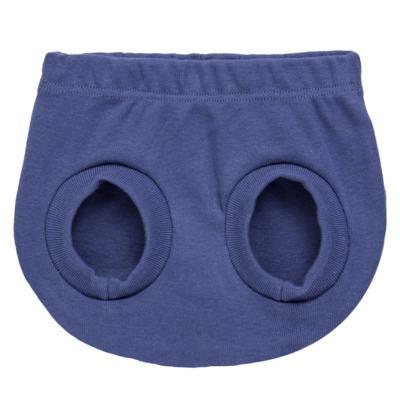 Imagem 4 do produto Pack Elefantinho: 02 Cobre Fraldas para bebe em high comfort - Vicky Baby - 1022-713 ELEF AZUL PK 2 COBRE BEBE SUED HIGH -GG