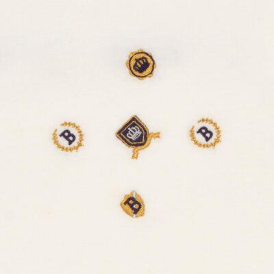 Imagem 2 do produto Manta forrada em malha Mini Brasões - Classic for Baby