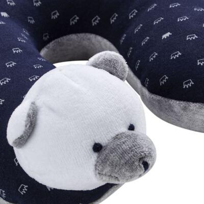 Imagem 2 do produto Protetor de pescoço para bebe Ursinho - Anjos Baby - AB1758705.010 DESCANSA PESCOÇO URSO T05